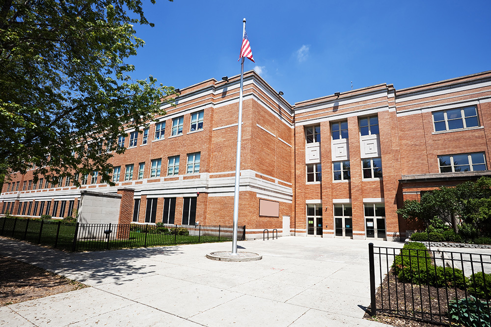 Photo of a school.